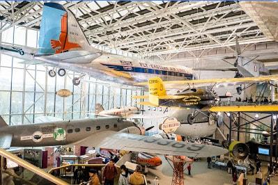 ワシントンDC スミソニアン 国立航空宇宙博物館 Smithsonian National Air and Space Museum