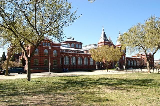 ワシントンDC スミソニアン 芸術産業館(The Arts and Industries Building)