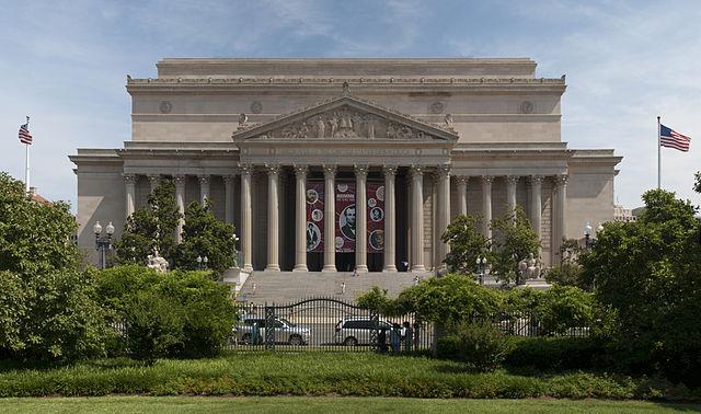 ワシントンDC スミソニアン 国立公文書館(The National Archives Museum)