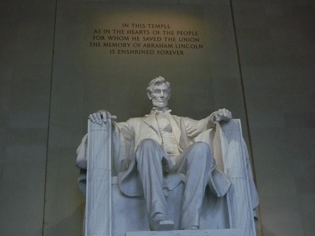 ワシントンDC スミソニアン リンカーン記念堂