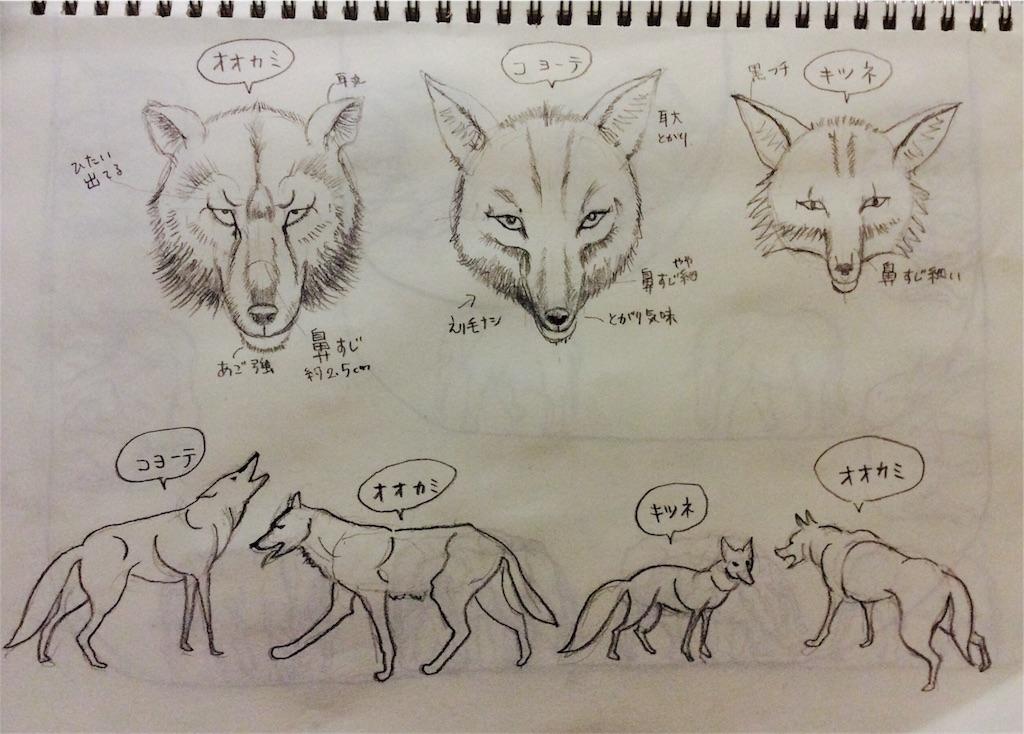 今日からオオカミさまです 子猫チビ太と手描きイラストの成長ブログ