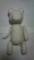 クマさんのマリオネット制作中。形はほとんど想像w