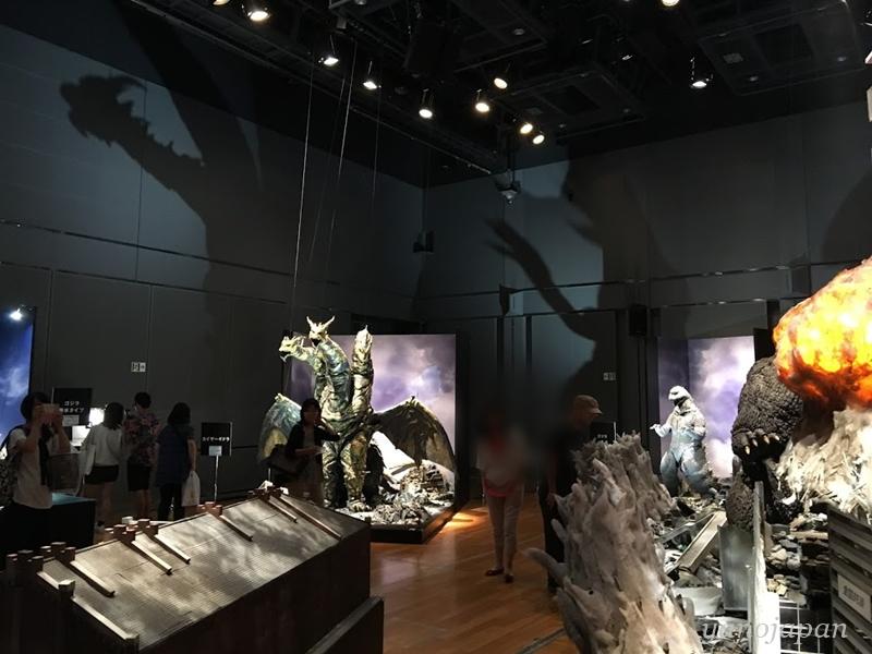 ゴジラ展 横浜撮影OKのエリア