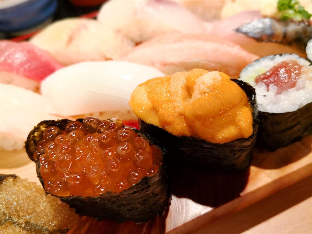 ウニといくらも絶品 立ち食い寿司都々井(五反田)