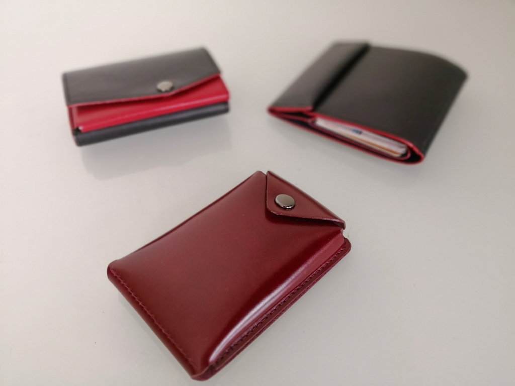 アブラサスの小さい財布と薄い財布と薄いカードケース