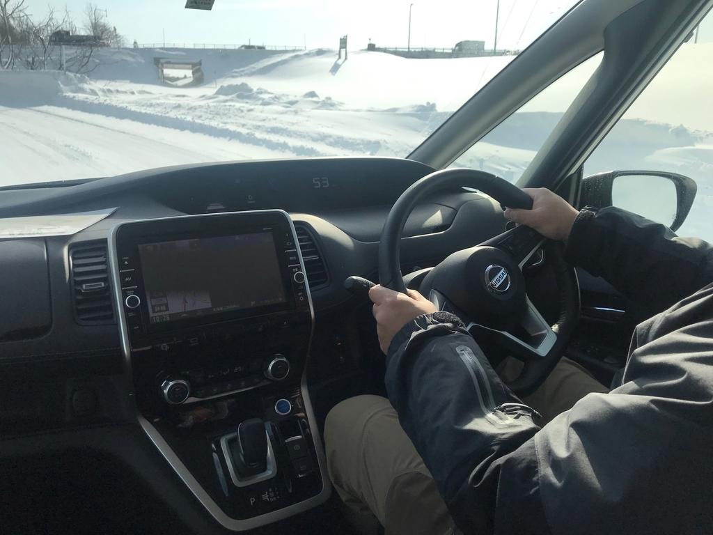 #日産車で雪上走ってみた #日産ブロガー試乗会