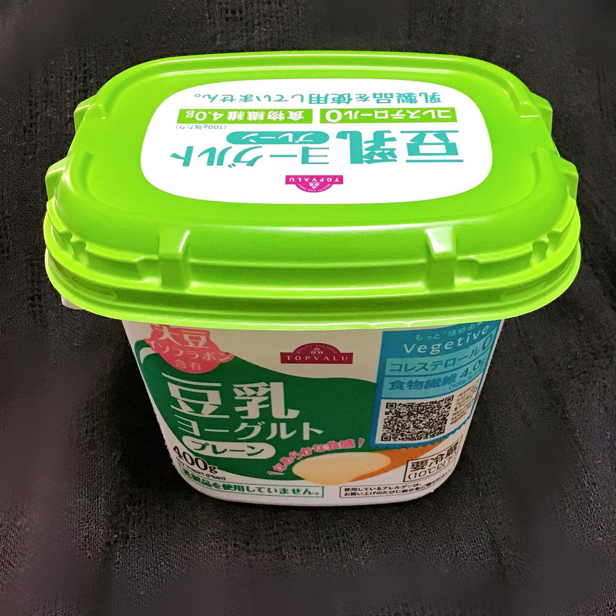 トップバリュの豆乳ヨーグルト