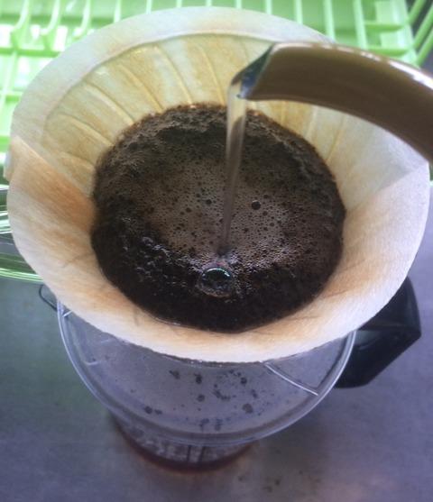 コーヒー淹れ