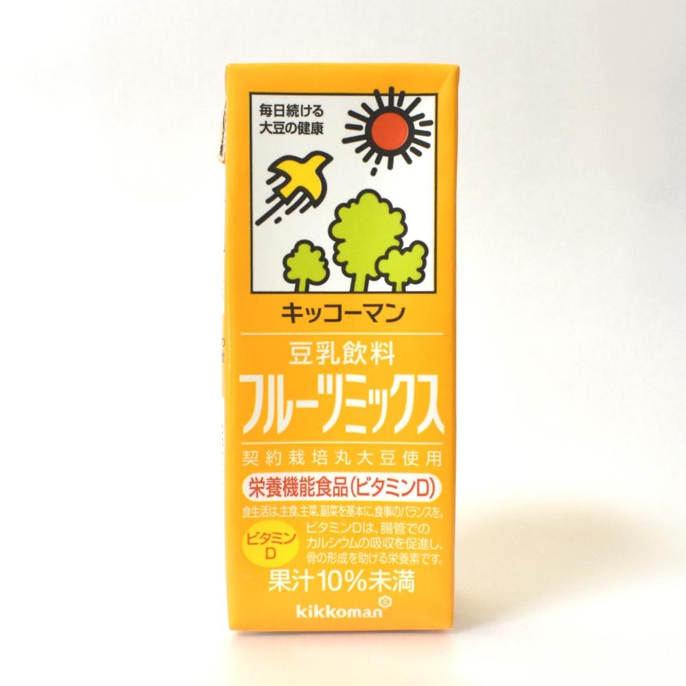 キッコーマン豆乳飲料フルーツミックス