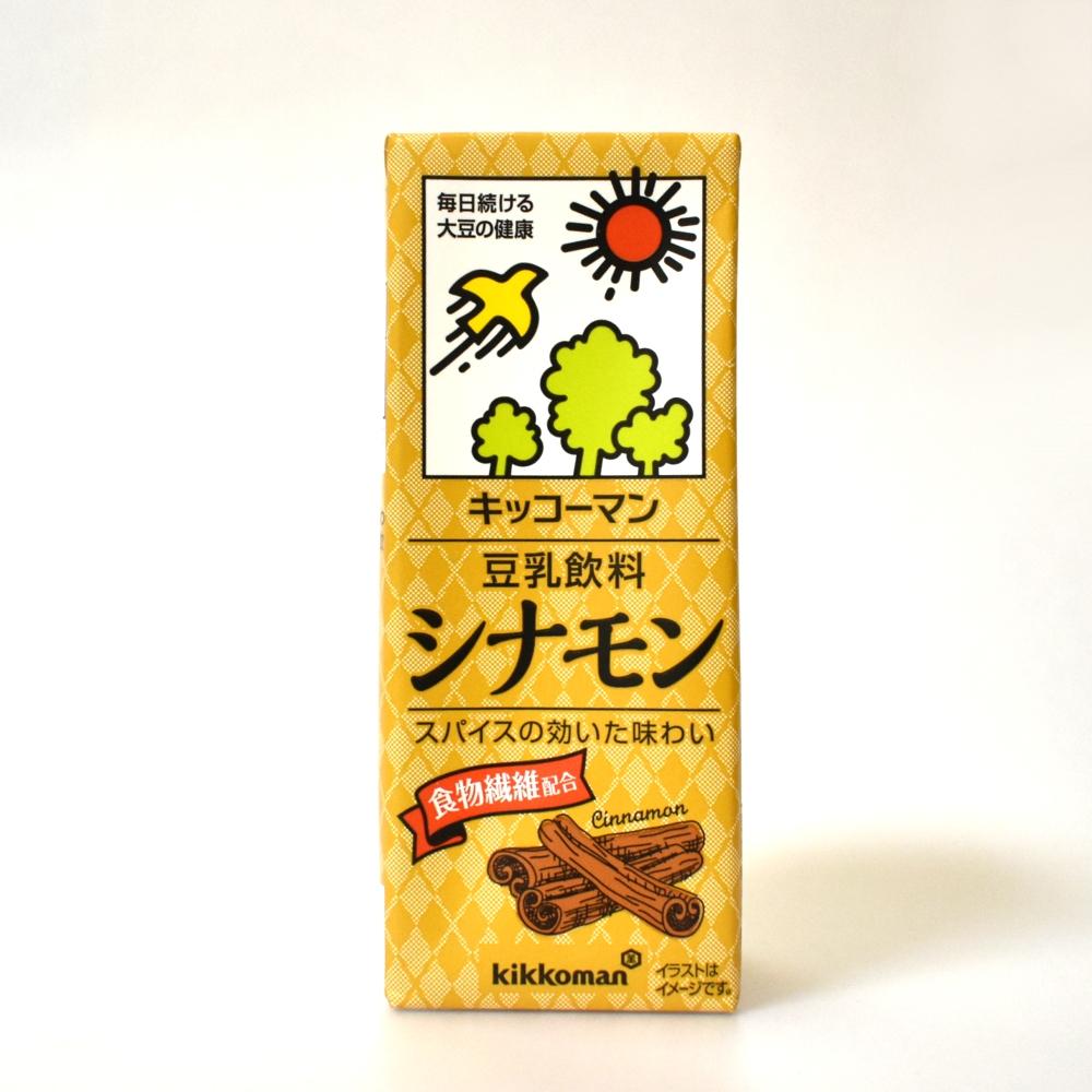 キッコーマン豆乳飲料シナモン
