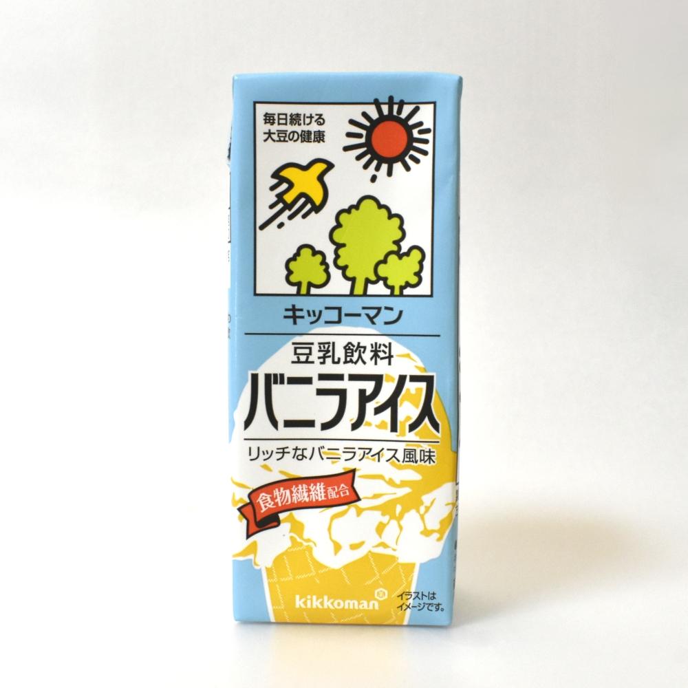 キッコーマン豆乳飲料バニラアイス