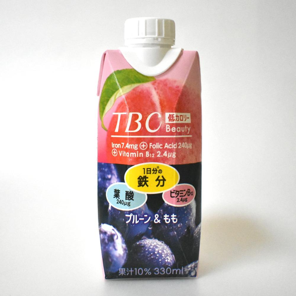 TBCドリンク鉄分+葉酸+ビタミンB12 プルーン&もも