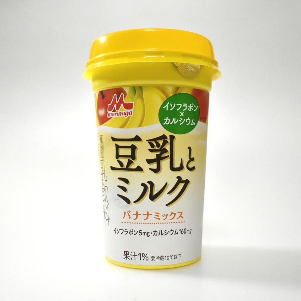 森永乳業豆乳とミルク バナナミックス