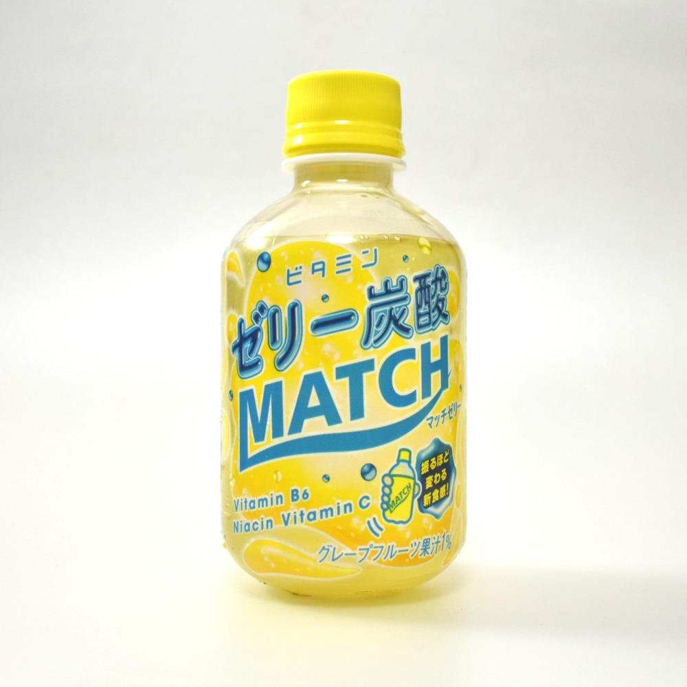 大塚食品のビタミンゼリー炭酸MATCH マッチゼリー