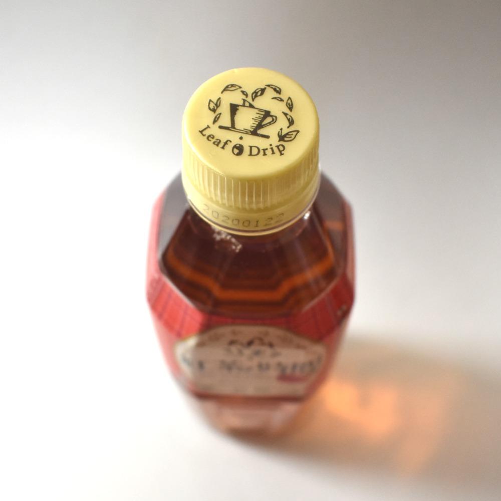 紅茶の時間ティーウィズアップル低糖のペットボトルキャップ画像