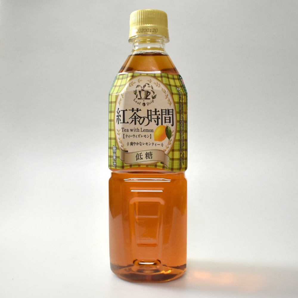 UCC紅茶の時間 ティーウィズレモン 低糖