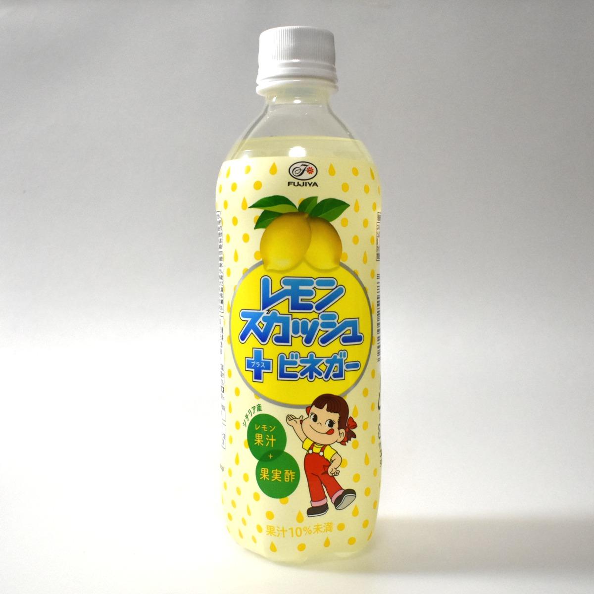 レモンスカッシュ+(プラス)ビネガー