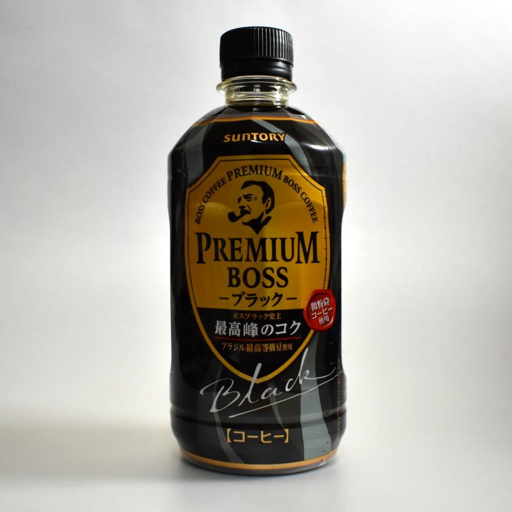 サントリー プレミアムボスブラックPET490ml
