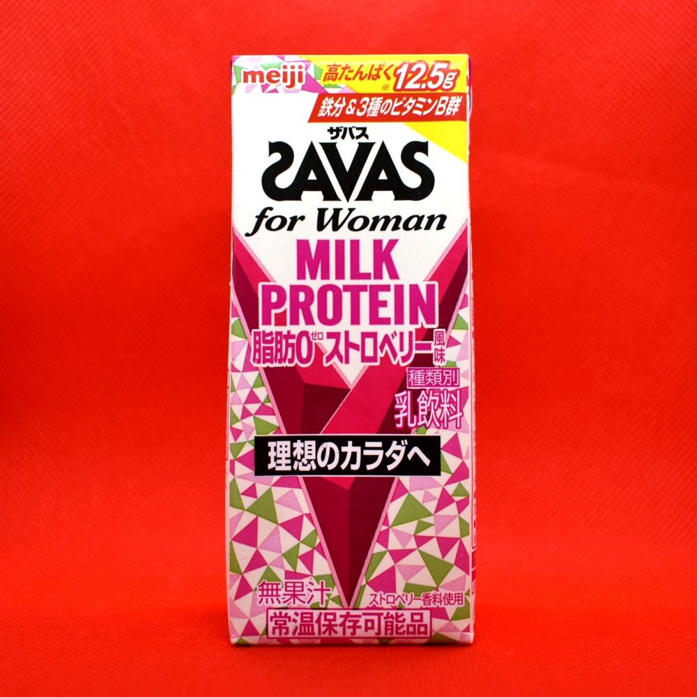 (ザバス)for Woman MILK PROTEIN脂肪0 ストロベリー風味