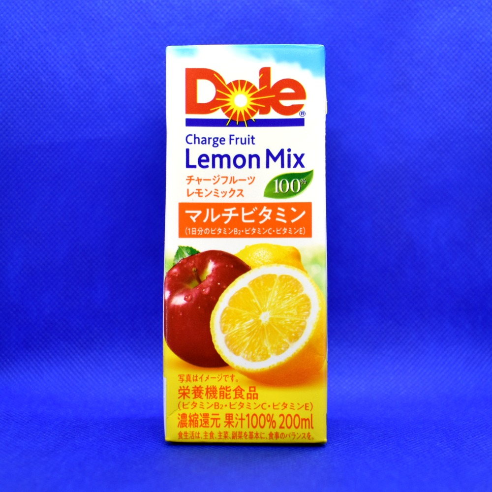 Dole チャージフルーツレモンミックス100%マルチビタミン