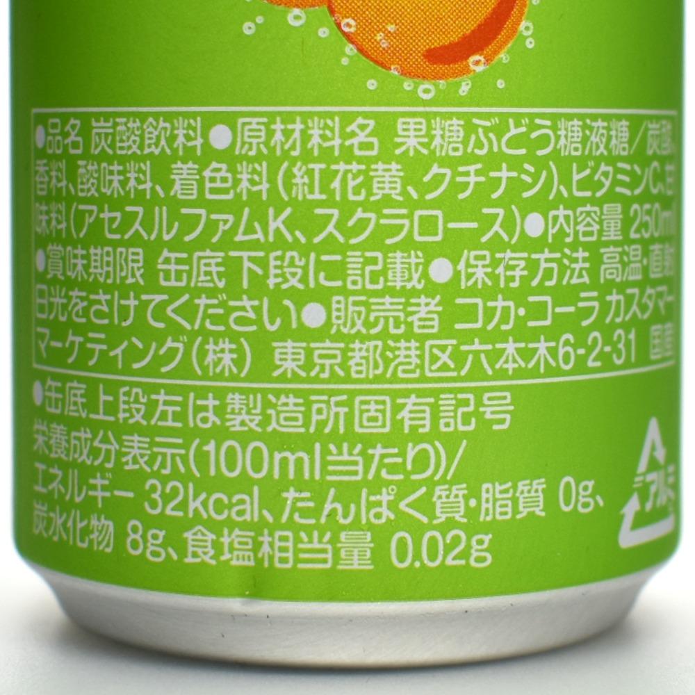 ファンタルロの原材料名と栄養成分表示