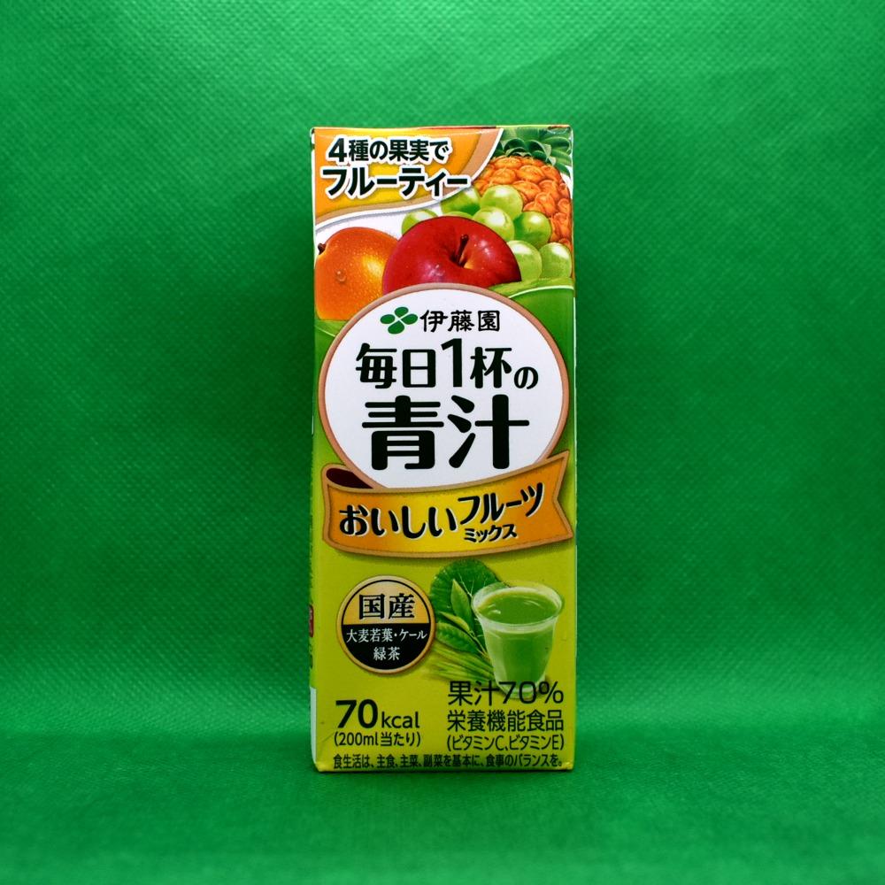 伊藤園 毎日1杯の青汁 おいしいフルーツミックス