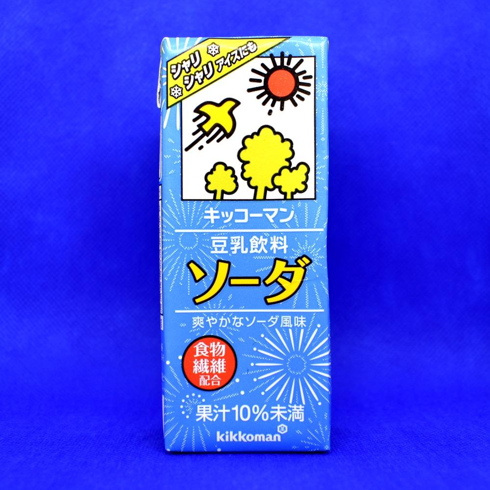 キッコーマン 豆乳飲料 ソーダ