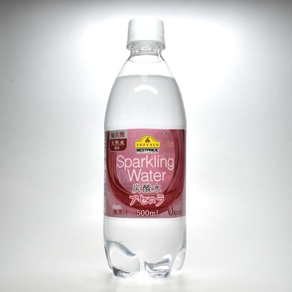 トップバリュ炭酸水アセロラ