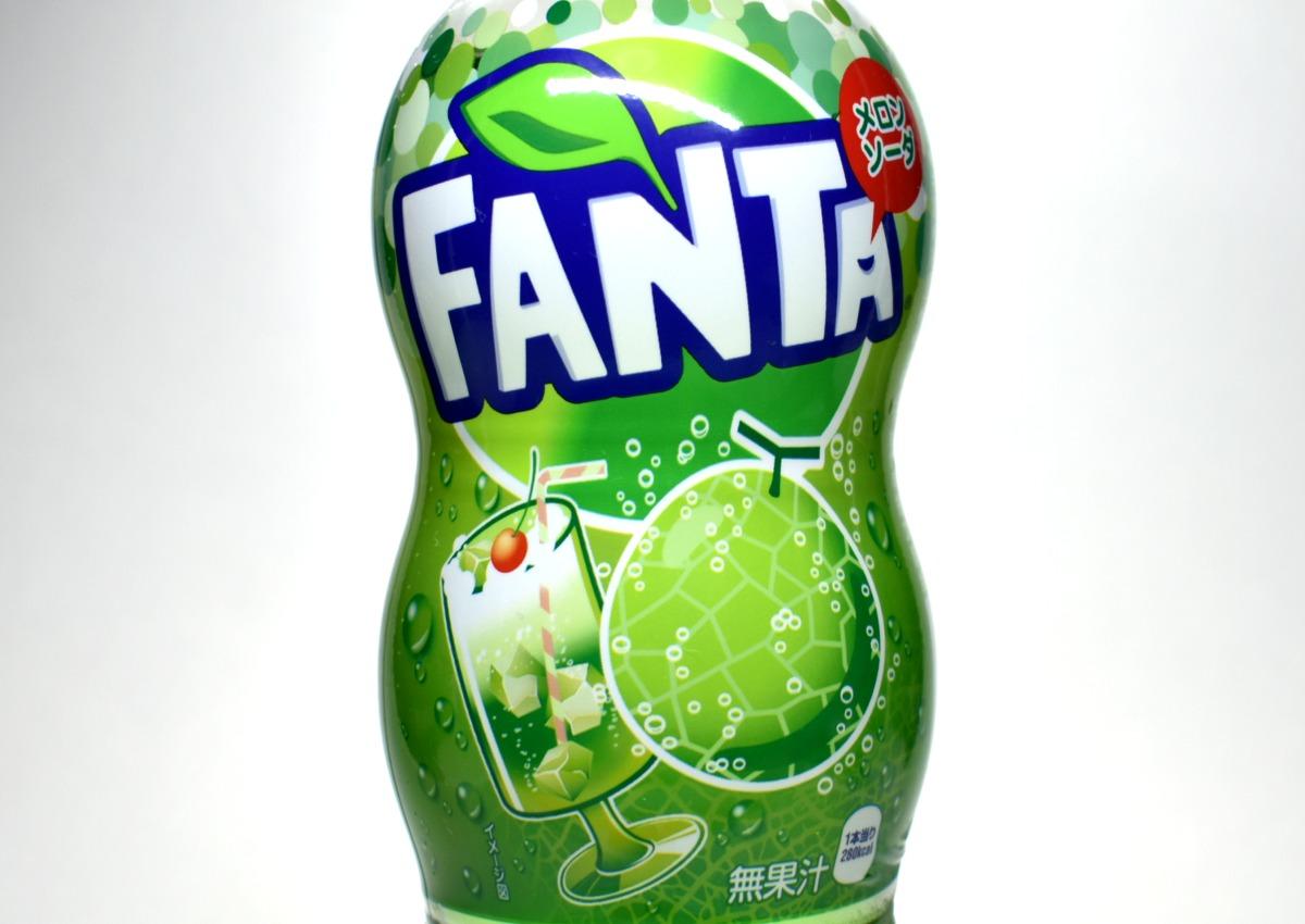 ファンタメロンソーダの画像