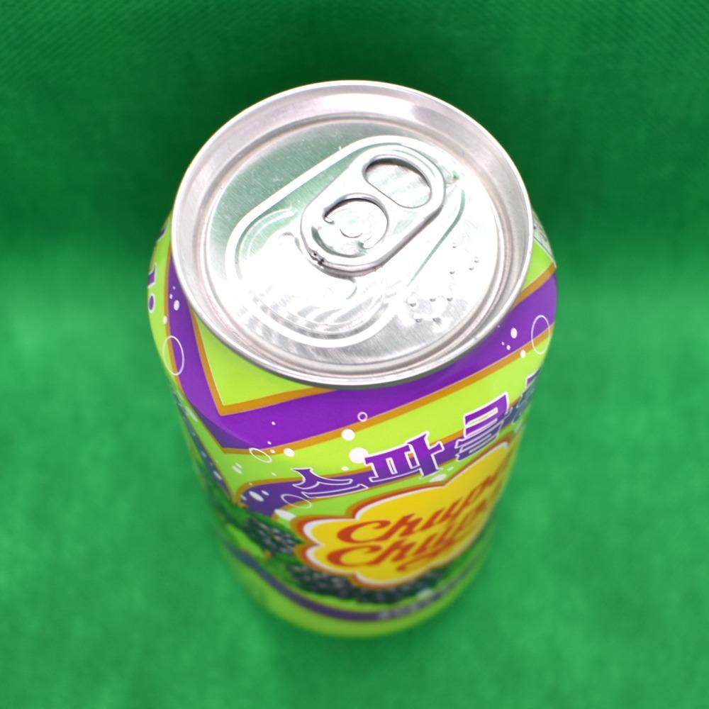 チュッパチャップス・グレープ・スパークリング,缶上部の画像