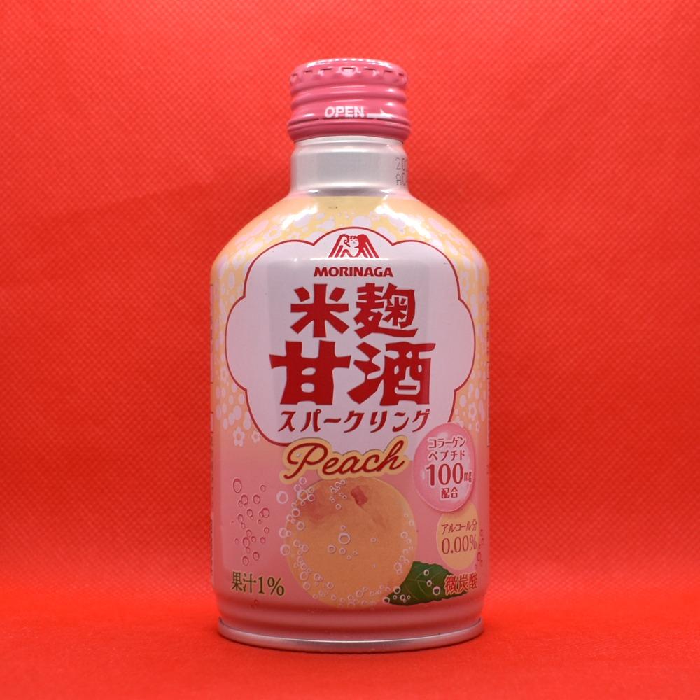 米麹甘酒スパークリング,ピーチ画像