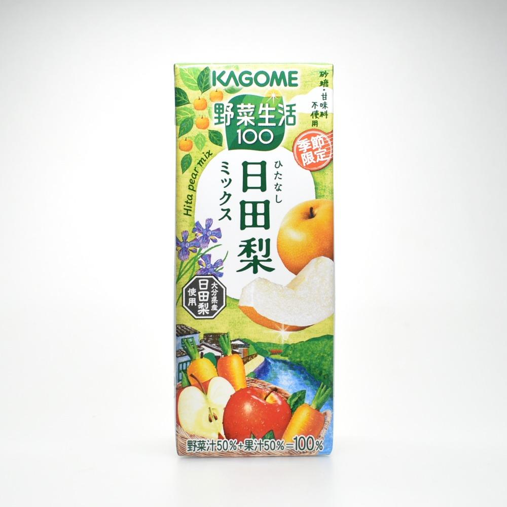 野菜生活100,ひたなし,日田梨ミックス画像