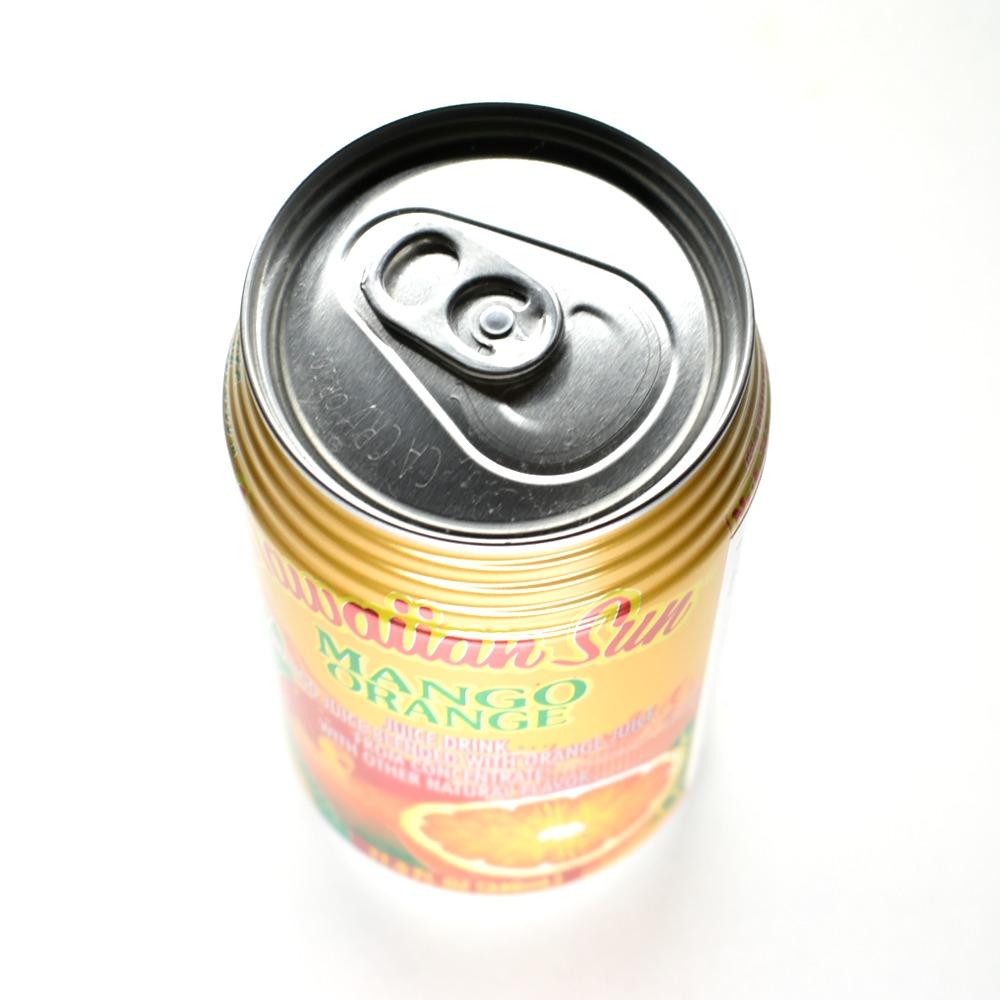 ハワイアンサン マンゴーオレンジ,340ml缶,上部画像