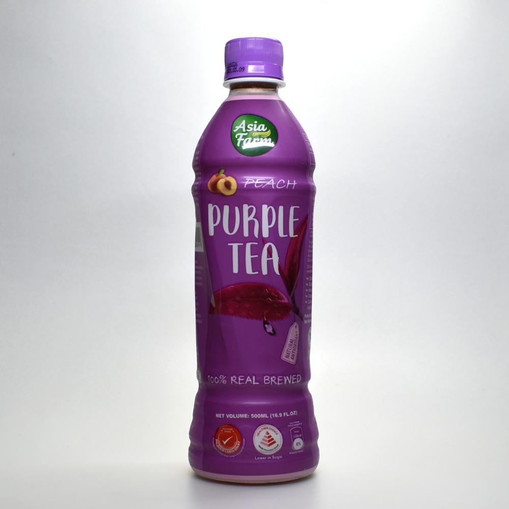 アジアファーム パープルティー ピーチ風味,Asia Farm Purple Tea