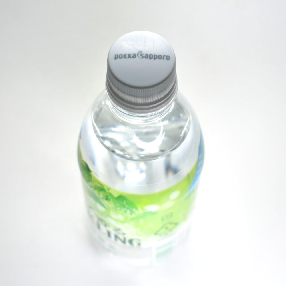 ポッカサッポロ,グリーンシャワー,ホップ香るスパークリング,ペットボトルキャップ