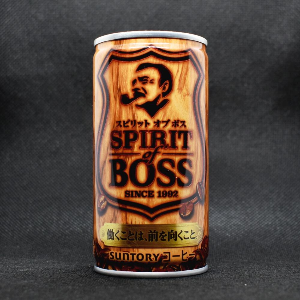 缶コーヒー,スピリット オブ ボス,SPRIT of BOSS