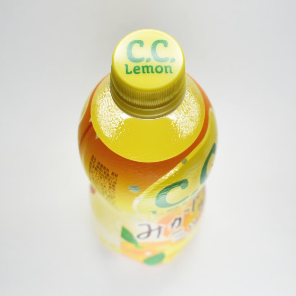 サントリー,C.C.レモンみかんミックス,ペットボトル,キャップ