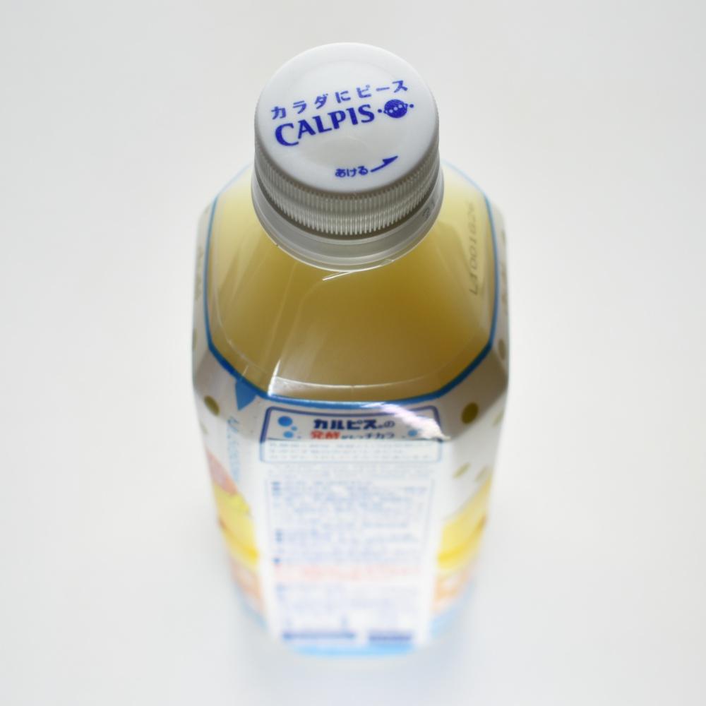 発酵BLENDバナナヨーグルト&カルピス,ペットボトルキャップ