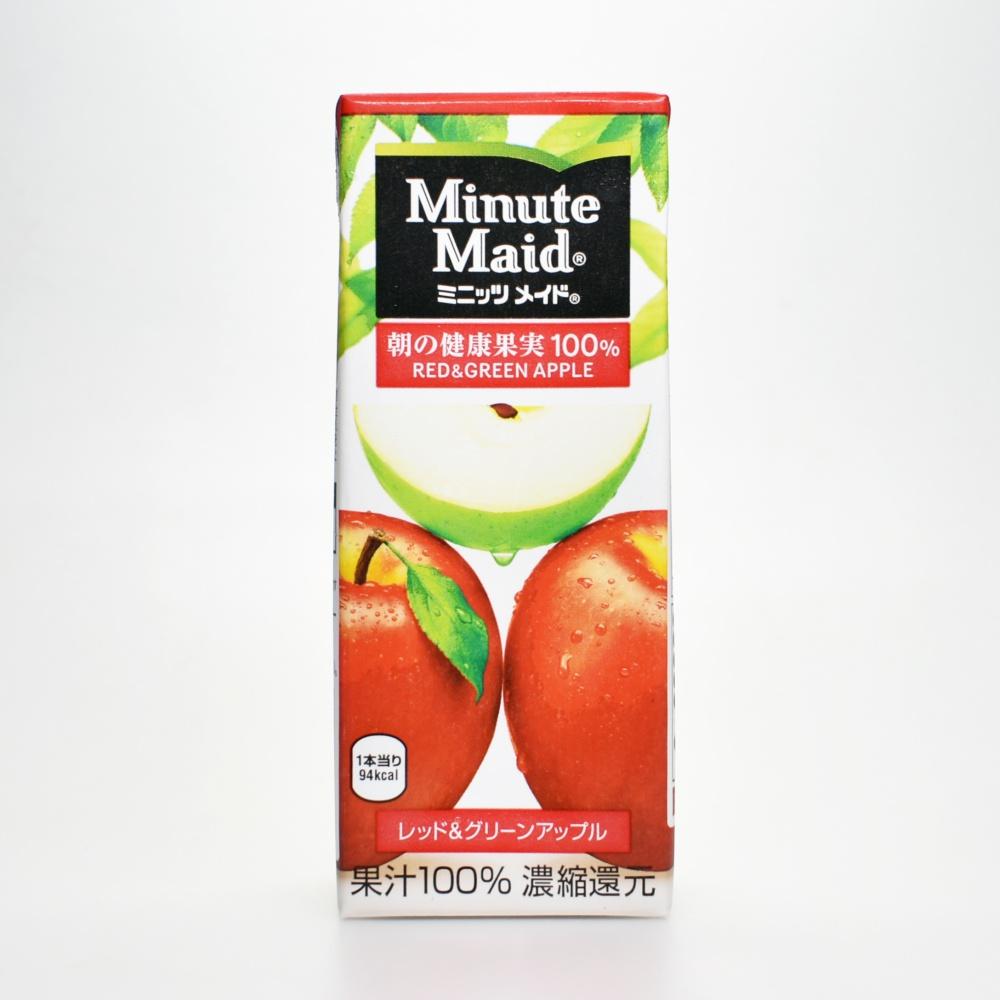 ミニッツメイド,レッド&グリーンアップル100%,200ml