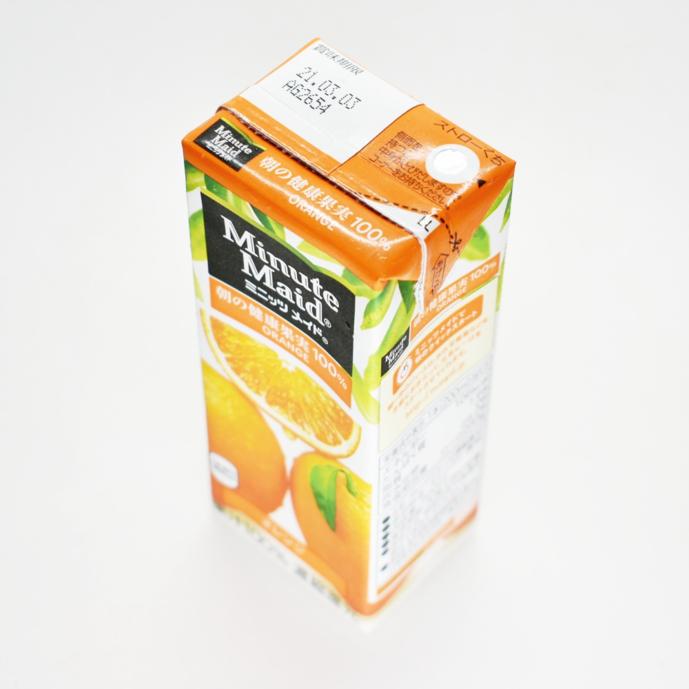 ミニッツメイド オレンジ100%