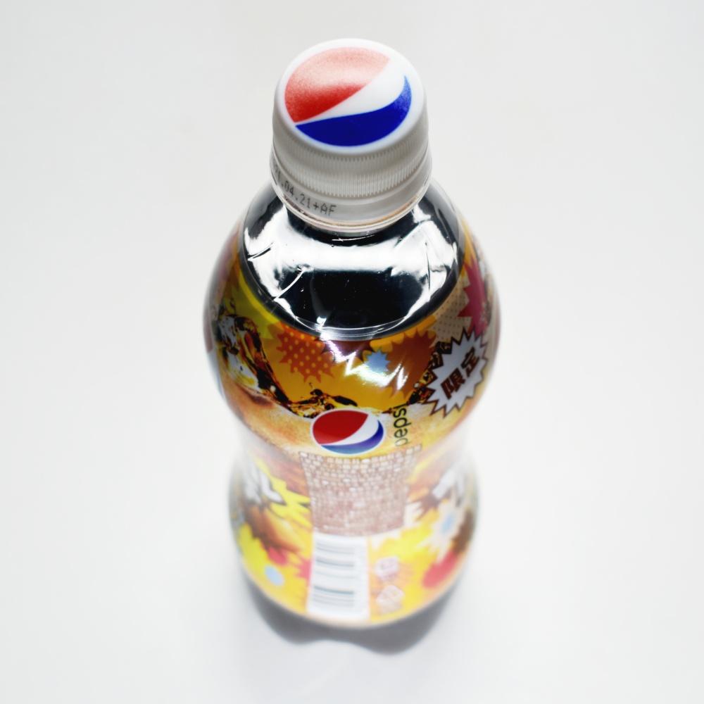ペプシ ジャパンコーラ キャラメルパンチ,ペットボトルキャップ