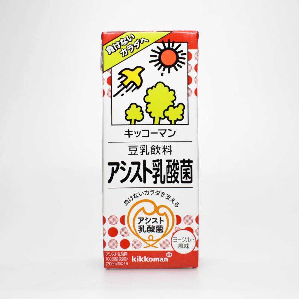 キッコーマン,豆乳飲料,アシスト乳酸菌