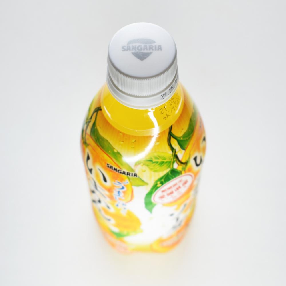 サンガリア,うましゅわいよかんソーダ,ペットボトルキャップ