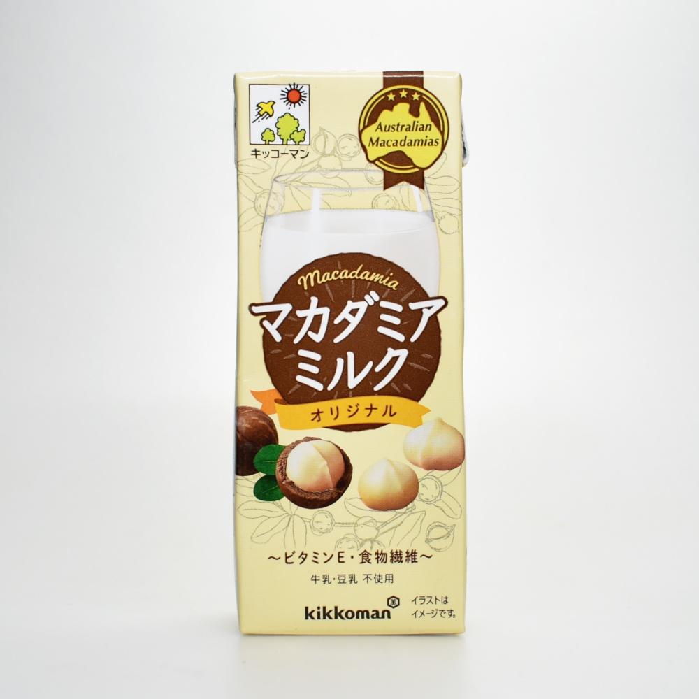 キッコーマン,マカダミアミルクオリジナル