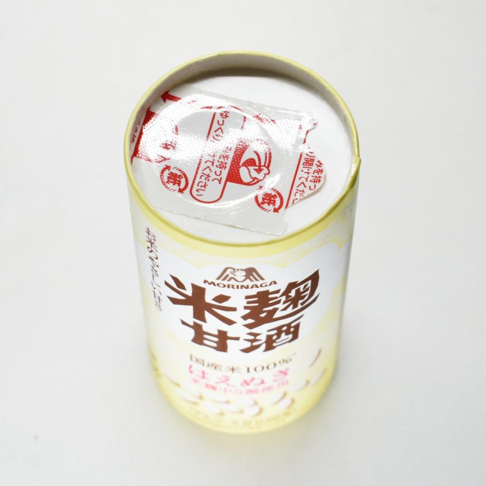 森永のやさしい米麹甘酒,はえぬき