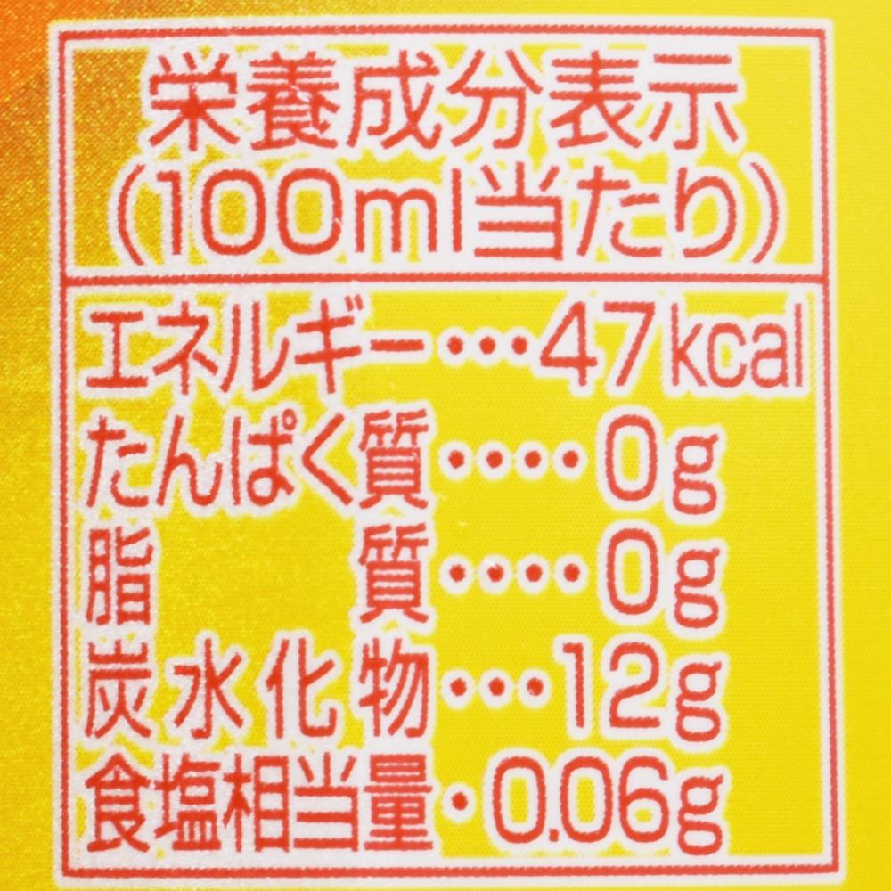 三ツ矢,にほんくだもの しらぬい,栄養成分表示