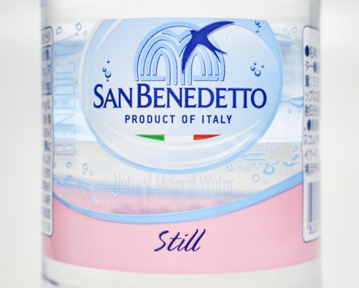 サンベネデット,San Benedetto,ナチュラルミネラルウォーター