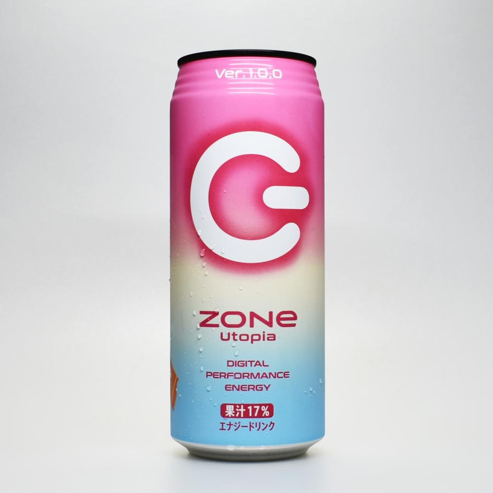 Japanese ENERGY DRINK,ZONe Utipia DIGITAL PERFORMANCE ENERGY