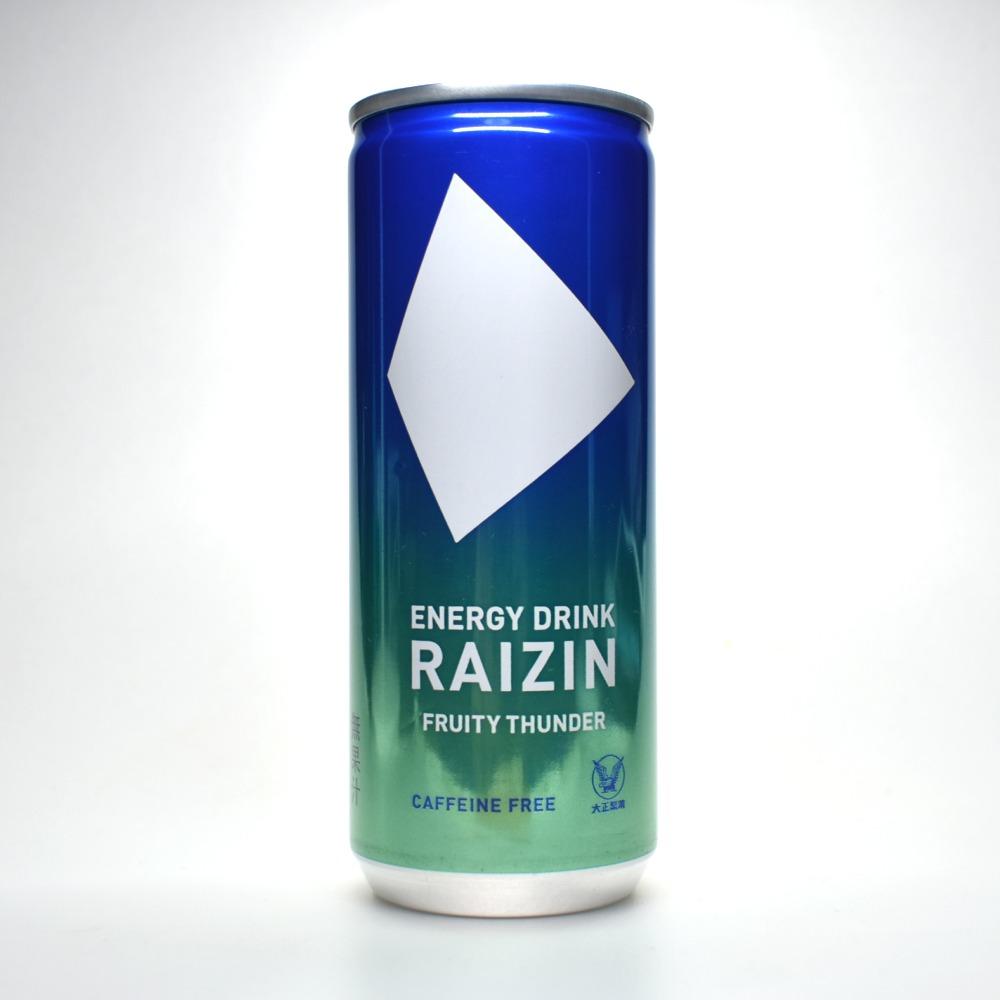 Japanese ENERGY DRINK,RAIZIN FRUITY THUNDER
