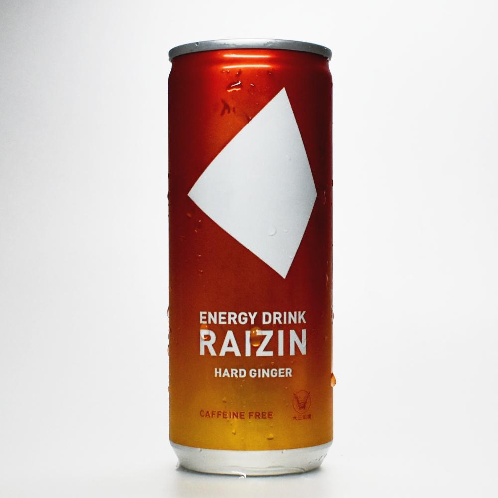 Japanese ENERGY DRINK,RAIZIN HARD GINGER